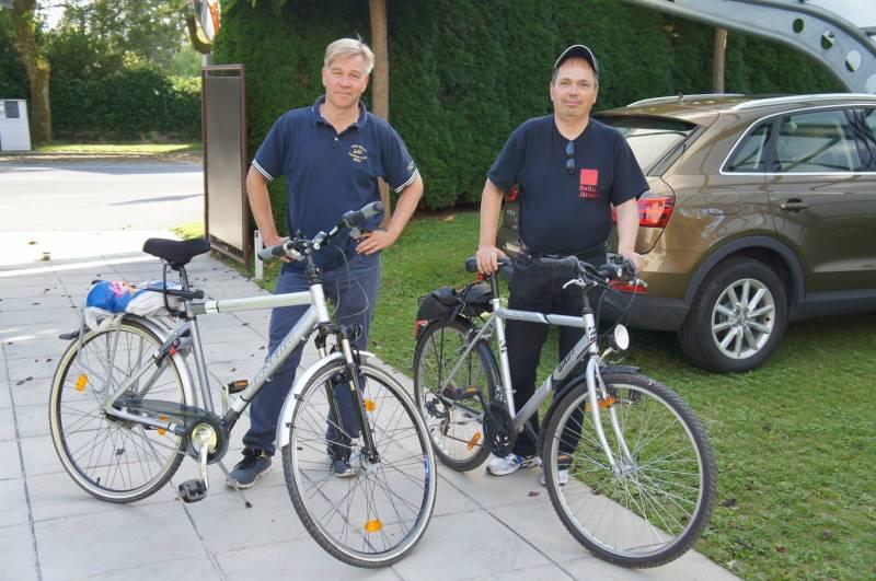 Kalle Soikkanen (left), Tapio Bergholm (right). Photo by Pekka Metso.