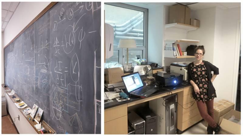 Dve strani laboratorija. (Foto: osebni arhiv AH.)