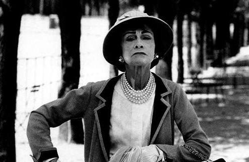 Coco Chanel (foto via http://aprettylife13.blogspot.com/)