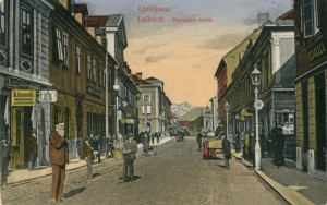 Dunajska cesta okoli 1910