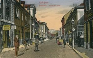 Dunajska cesta okoli 1910