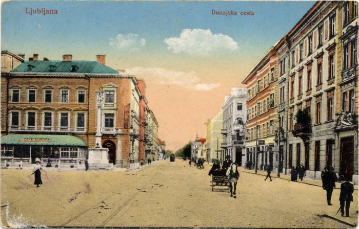 Dunajska cesta okoli 1924