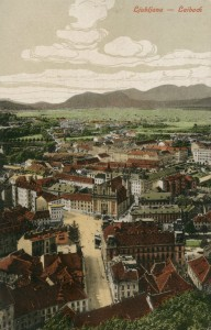 Ljubljana okoli 1900