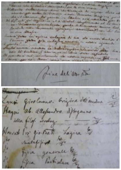 Primeri rokopisov. (foto: osebni arhiv MM)