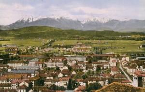 Pogled z ljubljanskega grada okoli 1930