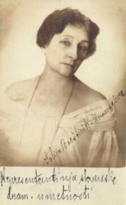 Portret Zofije Borštnik-Zvonarjeve, NUK, www.dlib.si (ta portret je bil objavljen tudi v Ilustriranem Slovencu leta 1926)