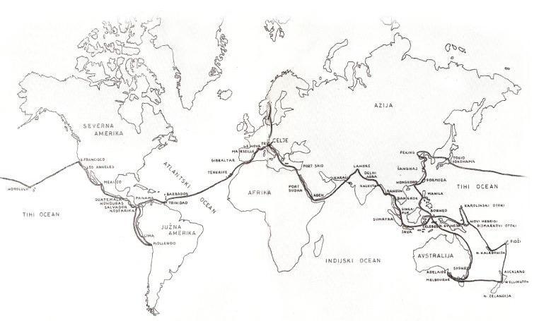 Almina pot okoli sveta (via teozofija.info)