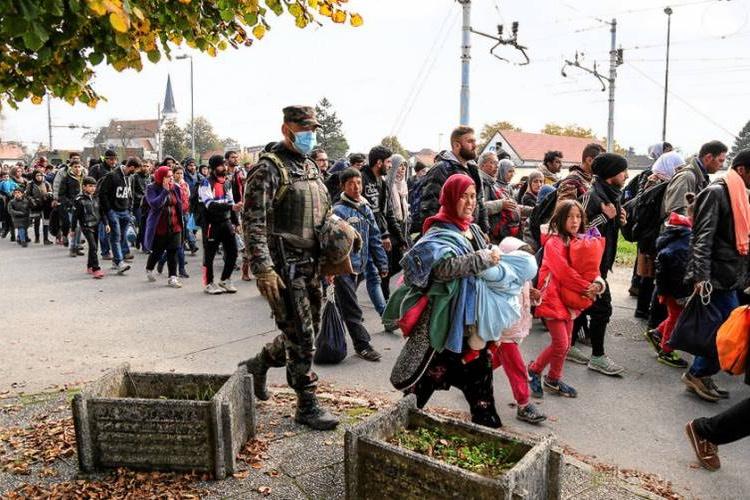 slovenska vojska begunci