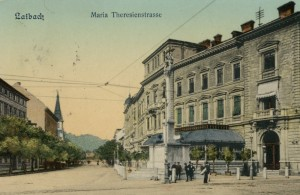 Ulica Marije Tereze (danes Gosposvetska) okoli 1913