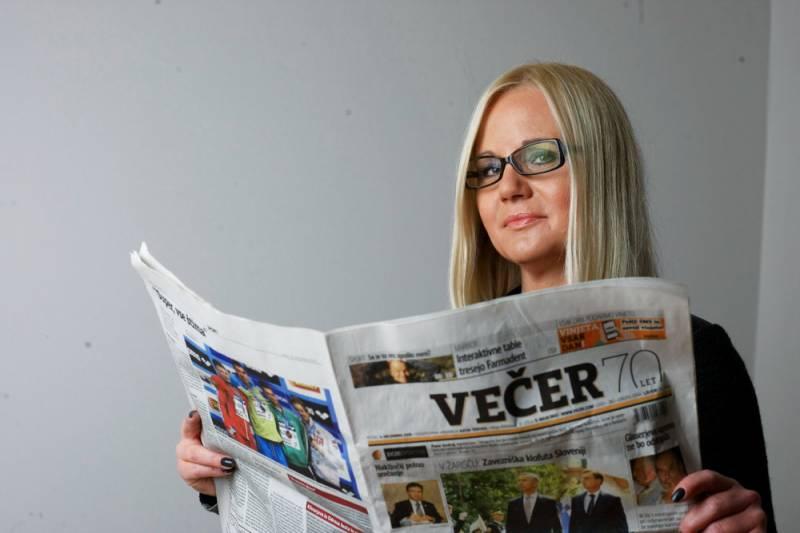 Katja Šeruga (foto: Andrej Petelinšek/Večer)