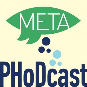 Avtorica grafične podobe podcasta Meta PHoDcast je oblikovalka Tanja Radež.