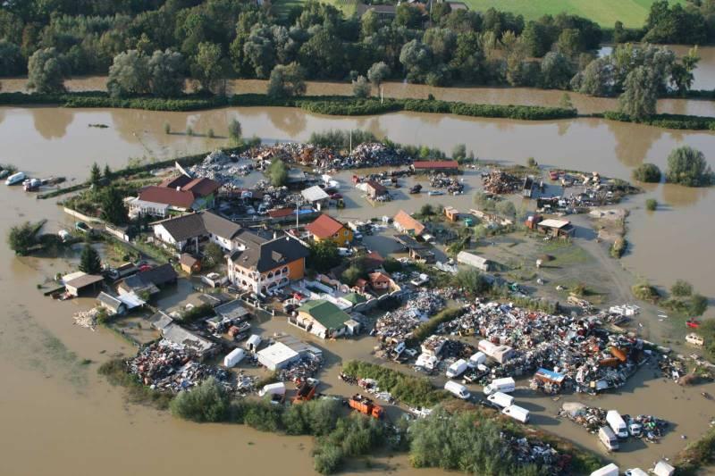 Poplave v Sloveniji. 2010 (foto via Wikimedia)