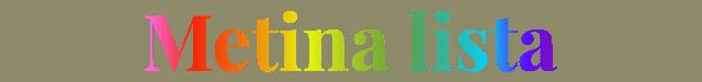Metina lista - Spletna postaja za osebe širokih pogledov in aktivnega duha