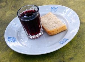kruh in vino