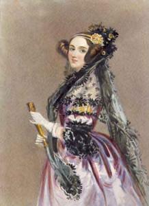 Ada Lovelace (foto: www.fathom.com via Wikimedia)