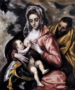 Greco_El-The_Holy_Family