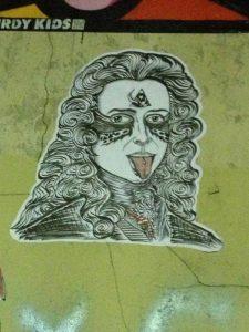One of the graffiti in Le Marais, Paris (photo: MTM)