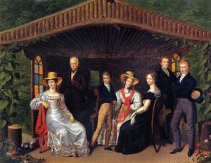 Družina cesarja Franca (foto via Wikimedia)