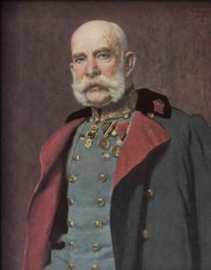 Cesar Franc Jožef (foto via Wikimedia)