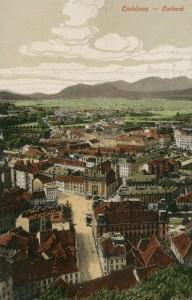 Ljubljana okoli 1900