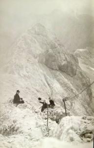 Mali Triglav, razglednica, poslana 1935