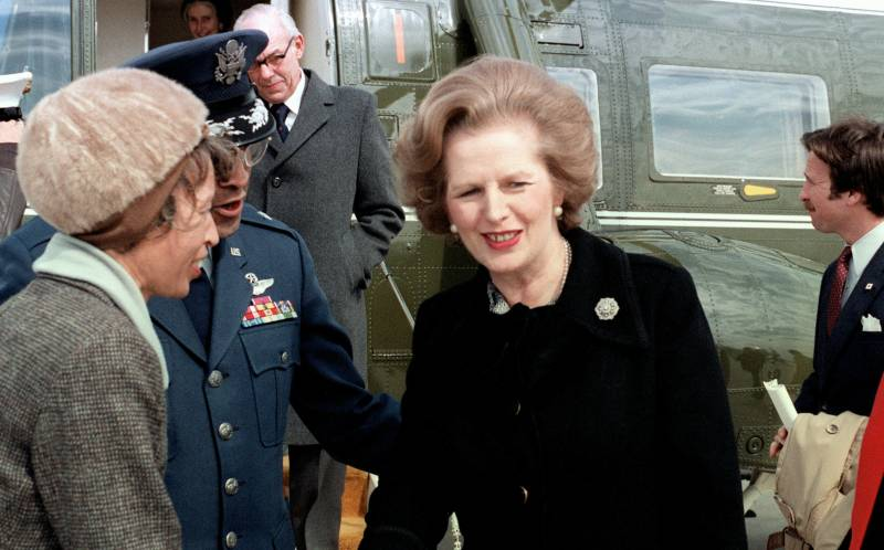 Margaret Thatcher (photo via Wikimedia)