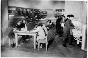 Mladinska knjižnica Berlin, iz Ilustriranega Slovenca, 13. 1. 1929