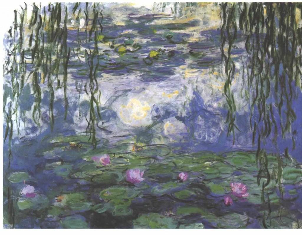 Water Lilies, c. 1915, Musée Marmottan Monet (vir: Wikipedia)