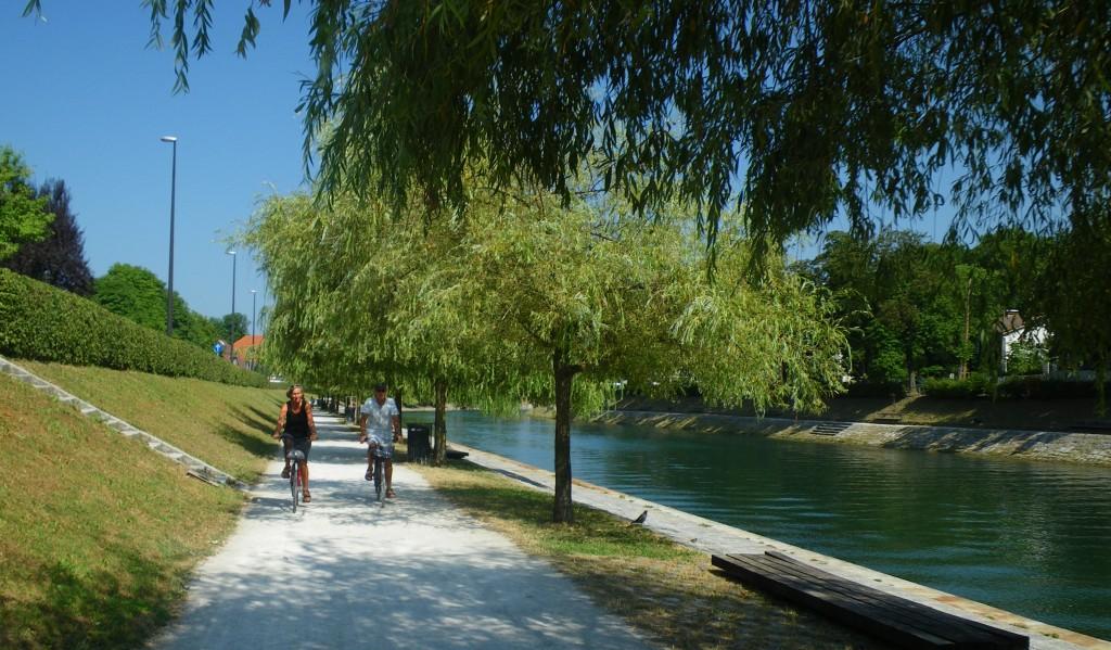 Ob Ljubljanici (foto: Tevž Černigoj)