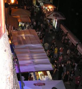 Motovunski filmski festival 2006 (foto: osebni arhiv GB)