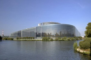 Seat of the European Parliament in Strasbourg (foto: Alexandre Prévot via Flickr)