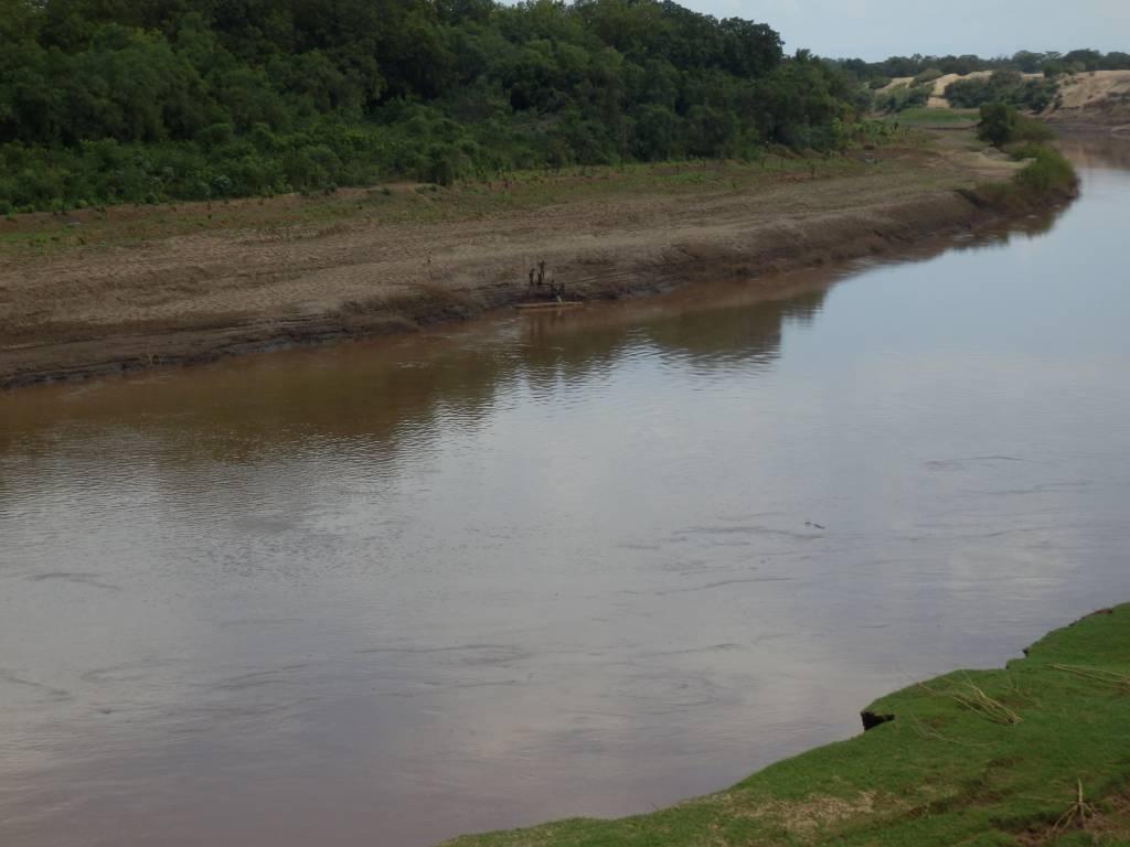 Ribici na reki Omo