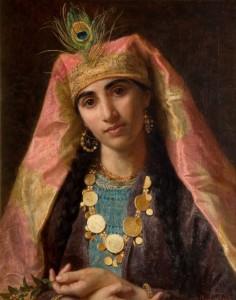 Šeherezada (avtorica: Sophie Anderson via Wikimedia)