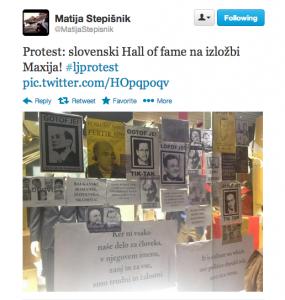 tvit Matije Stepišnika
