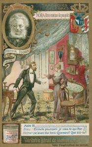 Henrik Ibsen, Hiša lutk (foto via  Bergen Public Library)