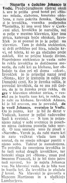 Slovenski narod, 12. septembra 1913