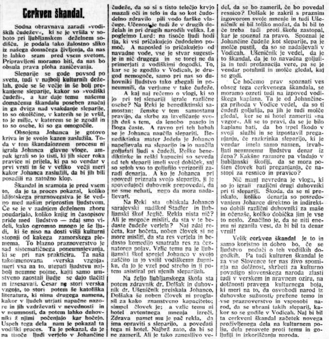 Slovenski narod, 5. januar 1914