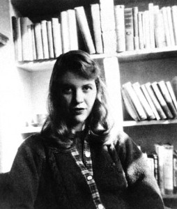 Sylvia Plath (foto via Wikimedia)