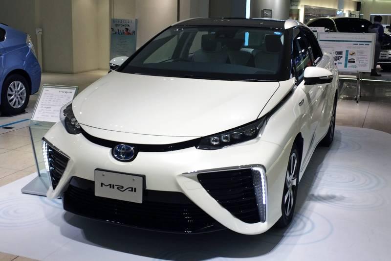Toyota Mirai (foto via Wikimedia)