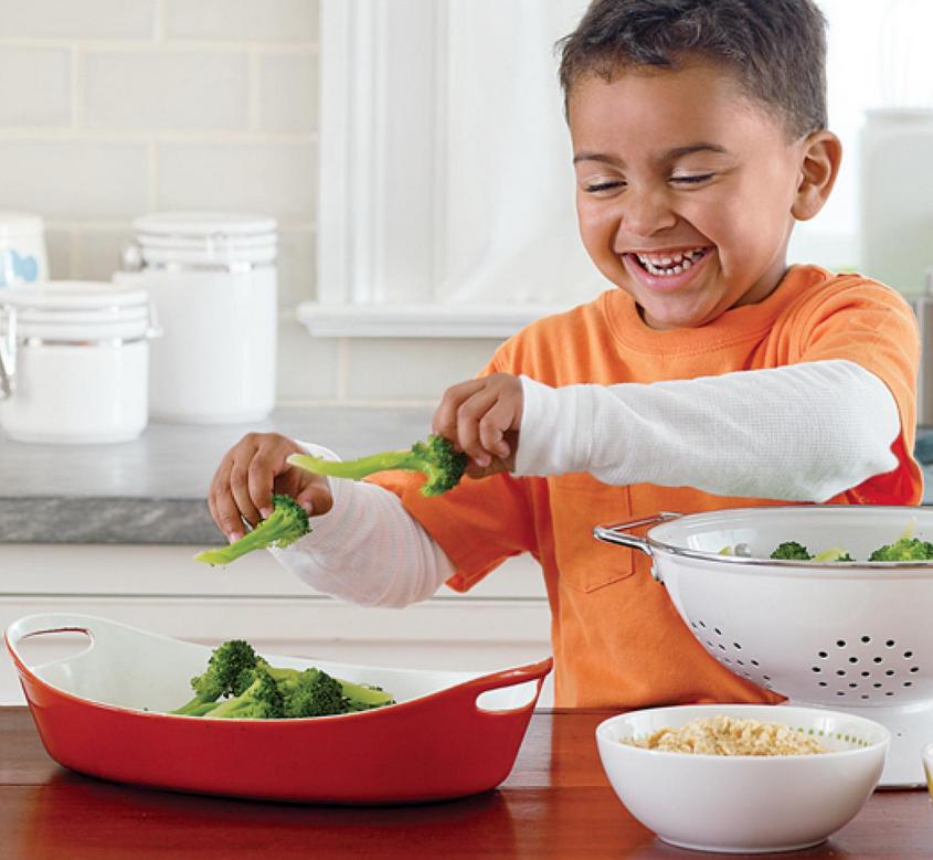 otroci brokoli