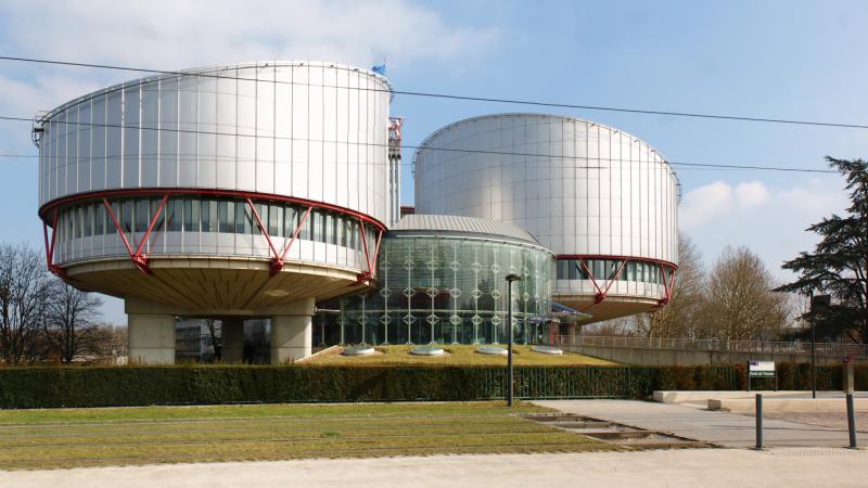Evropsko sodišče za človekove pravice (foto via Wikimedia)