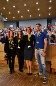 Organizatorji poletne šole (Martina Štampar, Tanja Tesovnik, Urša Brenčič, Gašper Grubelnik).