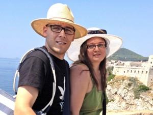Nejc in Maja Žorga Dulmin (foto: osebni arhiv)