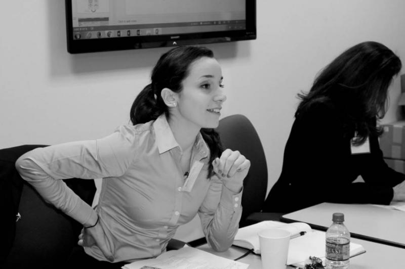 Marija Đorđeska (foto: Edith Frenyo (5ht Midatlantic SJD Roundtable)
