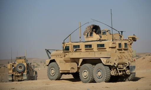 mrap army vehicle