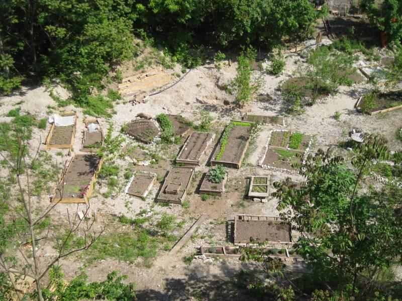 """S projektom do skupnostnega prostora: Projekt """"Onkraj gradbišča"""" (foto: osebni arhiv MS)"""