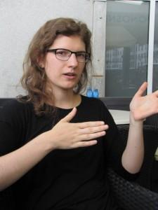 Taja Gorjan: »Všeč mi je, da delamo v skupinah, da se navadimo sodelovanja z drugimi prevajalci.«
