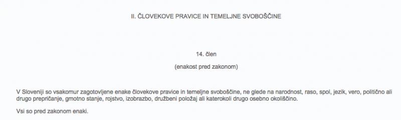 ustava republike slovenije